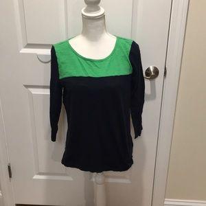 Gap Blue and Green classic shirt